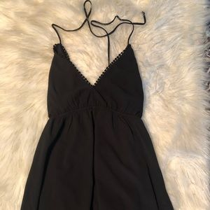 Urban outfitters halter top romper